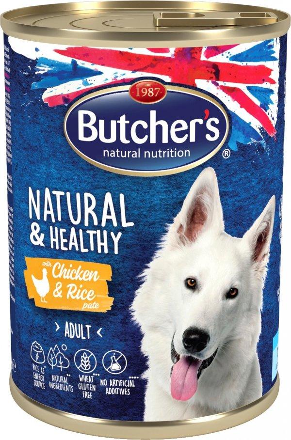 Butchers 5673 Natural&Healthy Jagnięcina ryż 1200g