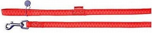 Zolux 522020RO Smycz Mac Leather 20mm/1,2m czerwon