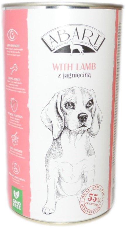 Abart 11954 puszka dla psa 1,24kg z jagnięciną