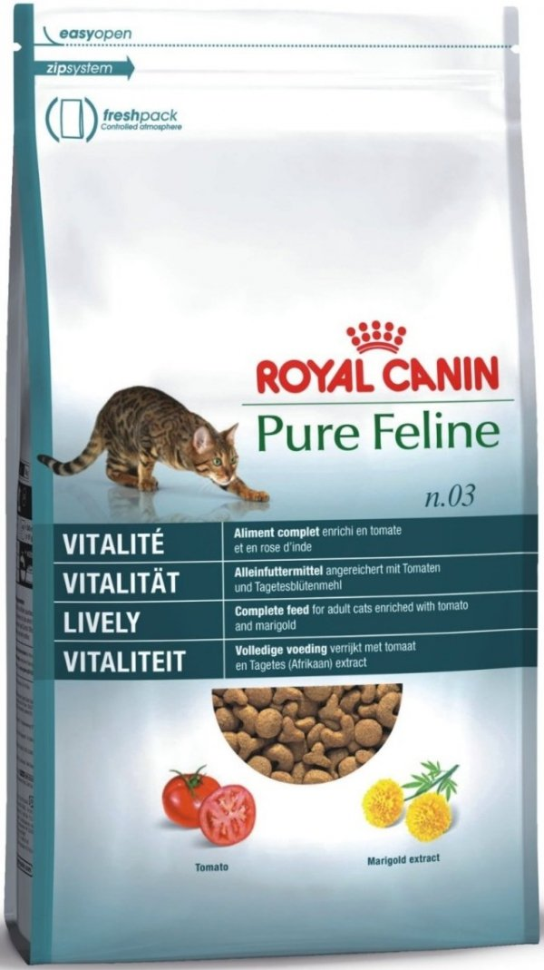 Royal 154250 Pure Feline Witalność nr3 - 1,5kg