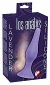 Korek analny silikonowy Los Analos Lavender 13 cm