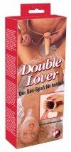Wibrujący Strap-On - Double Lover