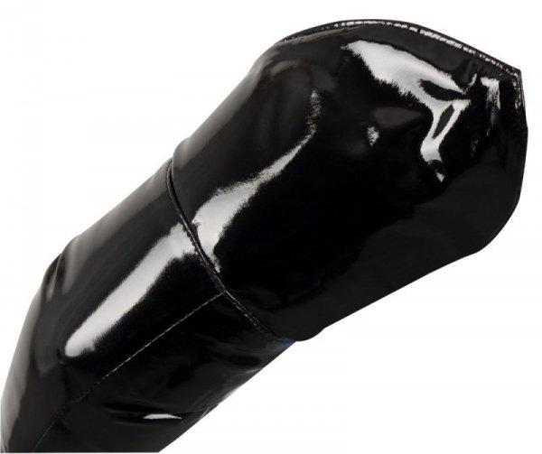 Rękawiczki winylowe czarne L