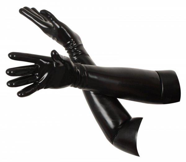 Lateksowe rękawiczki L