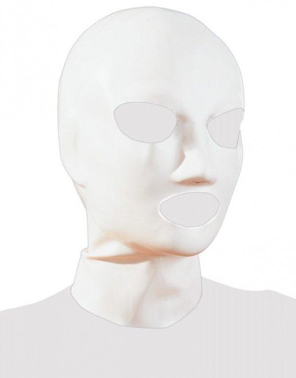 Lateksowa maska biała
