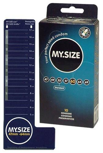 Prezerwatywy 60 mm 10szt. My.Size
