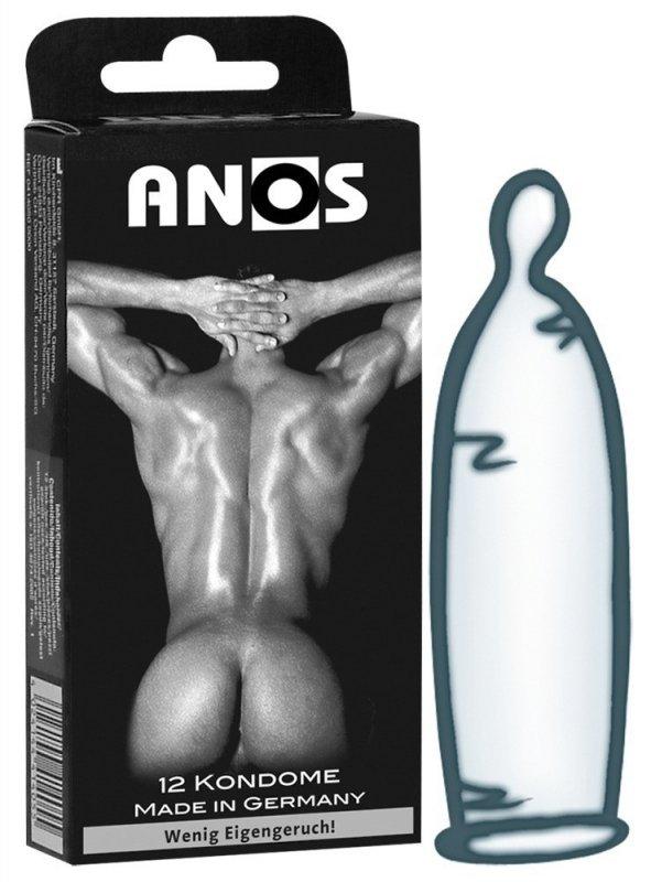 Prezerwatywy 12 szt. Anos