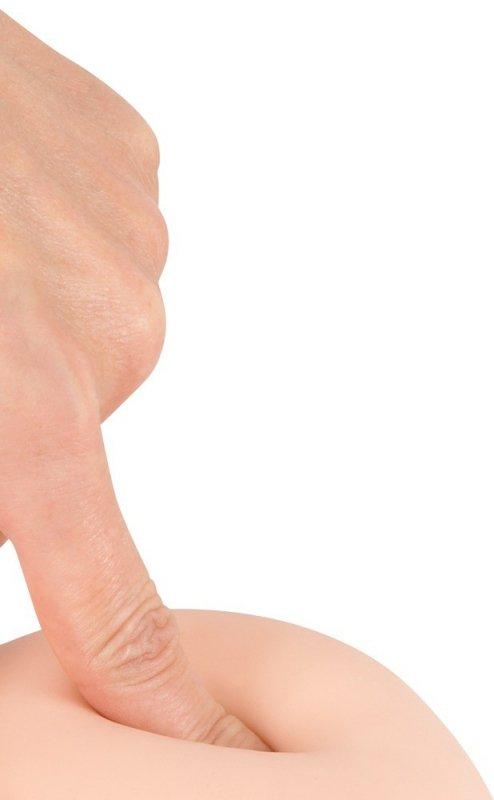 Dildo z przyssawką 24 cm Nature Skin