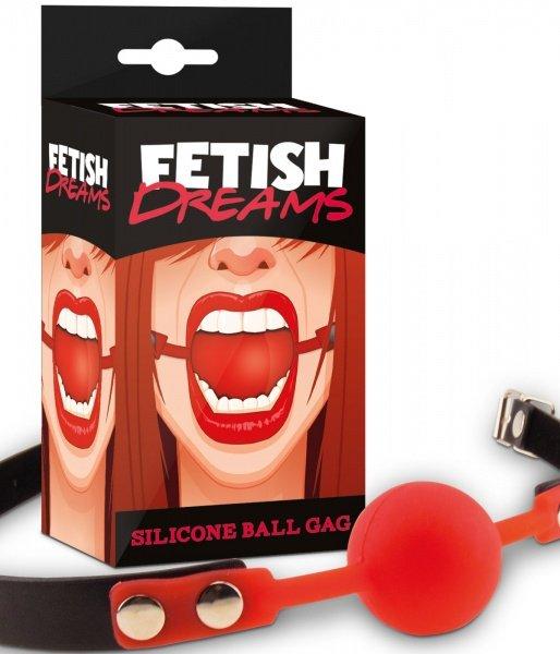 Fetish Dream knebel czerwony