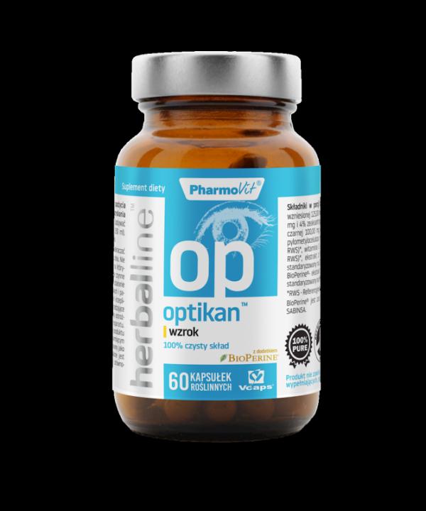 Herballine Optikan™ wzrok 60 kapsułek