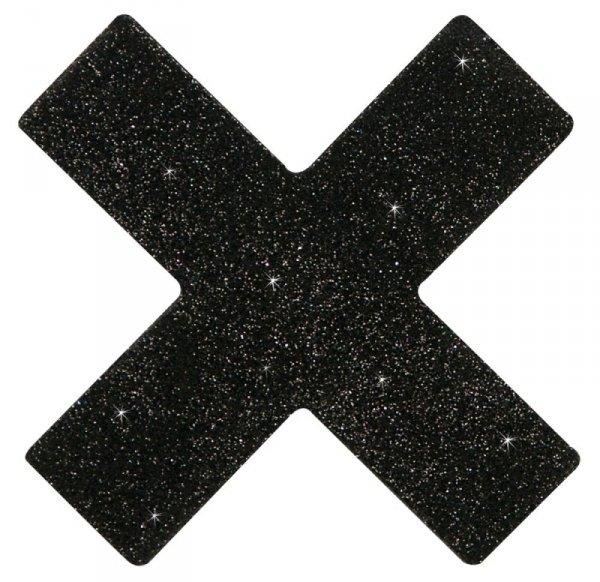 Ozdoby na piersi X czarne