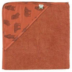 Brave Bear ręcznik z kapturem 75 x 75cm