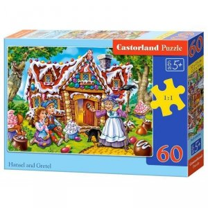 Puzzle 60el. hansel and gretel