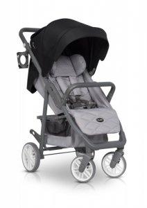 EURO-CART Wózek dziecięcy FLEX Antracite