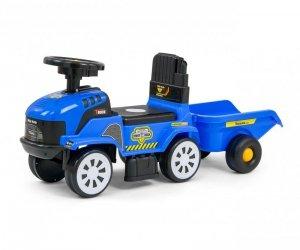 MILLY MALLY Pojazd Rolly Plus Blue + przyczepa