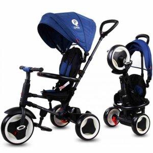 Rowerek trójkołowy Qplay Rito - niebieski