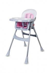 Krzesełko do karmienia Comfort Basic - różowe