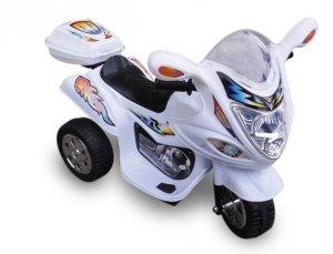 Motorek M1 biały, motorek dla dziecka