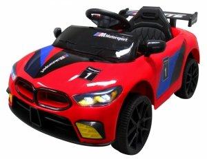 CABRIO B1 CZERWONY auto na akumulator 2x silnik pilot 2.4G
