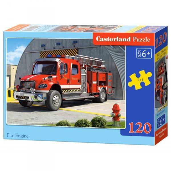 Puzzle 120el. fire engine