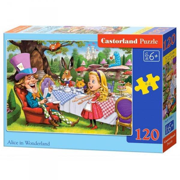 Puzzle 120el. alice in wonder.