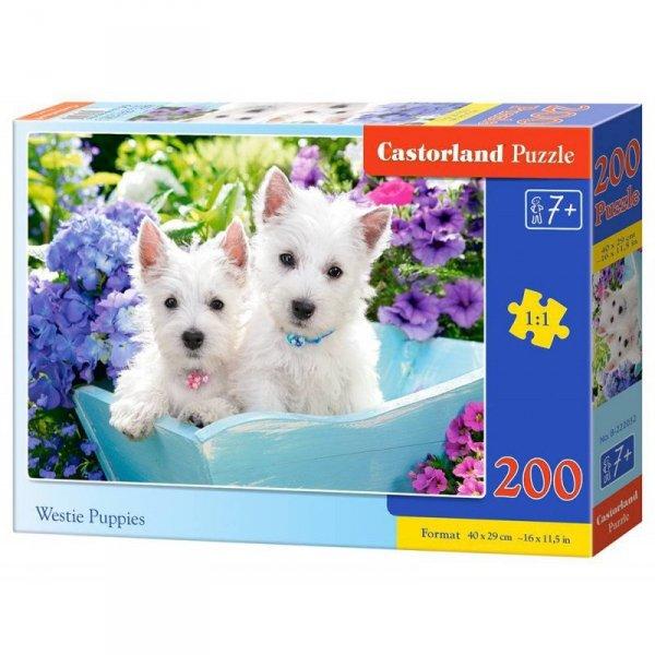 Puzzle 200 westie puppies