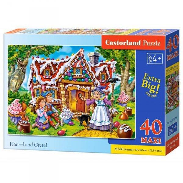Puzzle 40 el.maxi hansel&grete