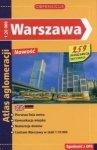 Warszawa Atlas aglomeracji skala 1:20 000