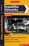 Atlas Republika Słowacka dla Kierowców Zawodowych Atlas samochodowy Skala 1: 550 000