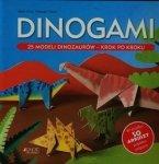 Dinogami 25 modeli dinozaurów krok po kroku Mari Ono Hiroaki Takai