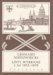 Listy wybrane z lat 1832-1839 Leonard Niedźwiecki