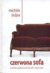 Czerwona sofa Michelle Lesbre