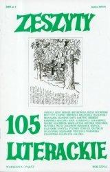 Zeszyty Literackie 105