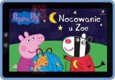 Świnka Peppa Książeczki Bajeczki Nocowanie u Zoe