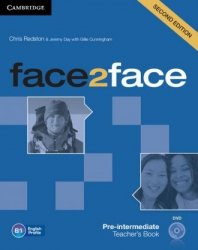 face2face Second edition  Pre-intermediate Teachers Book with DVD Chris Redston, Jeremy Day