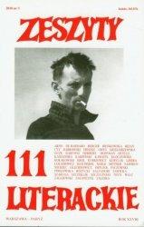 Zeszyty literackie 111 Jan Lebenstein