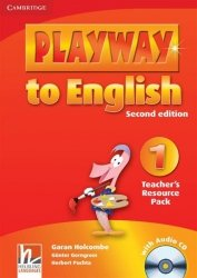 Playway to English 1 Teacher's Resource Pack + CD Garan Holcombe Gunter Gerngross Herbert Puchta