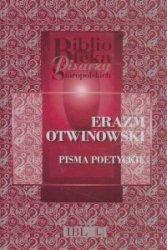 Pisma poetyckie Erazm Otwinowski