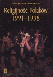 Religijność Polaków 1991-1998 red ks Witold Zdaniewicz