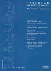 Przegląd Kulturoznawczy Nr 2 Rok 2007  Polska Akademia Nauk