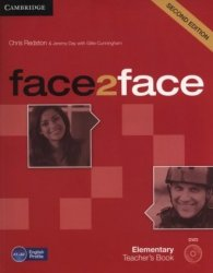 face2face Second edition Elementary Teachers Book ( DVD)  Chris Redston, Jeremy Day, Gillie Cunningham