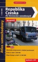 Republika Czeska dla Kierowców Zawodowych Atlas samochodowy Skala 1: 550 000