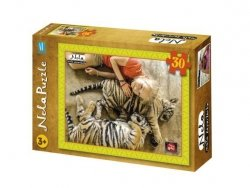 Nela mała reporterka Tygrys (puzzle 30-elem)