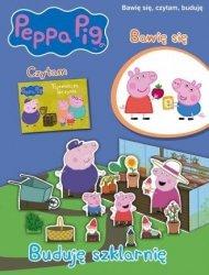 Peppa Pig Buduję szklarnię Bawię się, czytam, buduję
