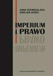 Imperium i prawo Anna Szemrzalska Ewelina Szrek