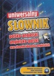 Uniwersalny słownik polsko-angielski angielsko-polski oraz słownik idiomów angielskich (niebieski)