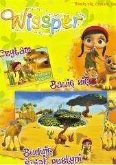 Wissper Bawię się czytam Buduje świat pustyni