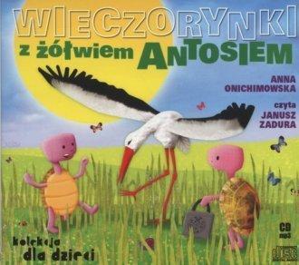 Wieczorynki z żółwiem Antosiem (CD mp3) Anna Onichimowska