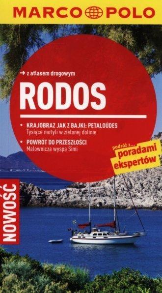 Rodos Przewodnik Marco Polo z atlasem drogowym Klaus Botig