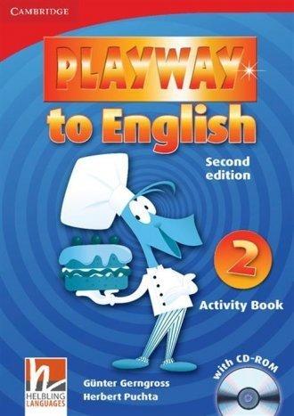 Playway to English 2 Activity Book + CD Günter Gerngross, Herbert Puchta